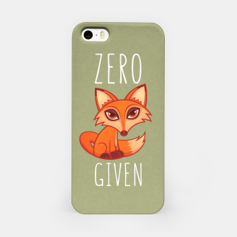 Thumbnail image of Zero Fox Given iPhone Case, Live Heroes