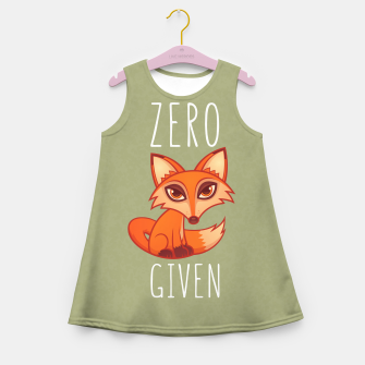 Thumbnail image of Zero Fox Given Girl's summer dress, Live Heroes