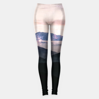 Thumbnail image of Nothings Gonna Stop Us Now Leggings, Live Heroes