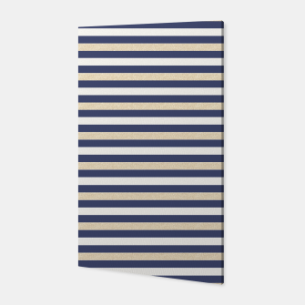 Thumbnail image of Royal Gold Classic Stripes Canvas, Live Heroes