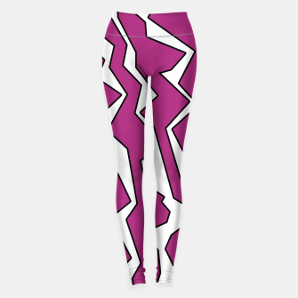 Thumbnail image of Electric Pink Polynoise Leggings, Live Heroes