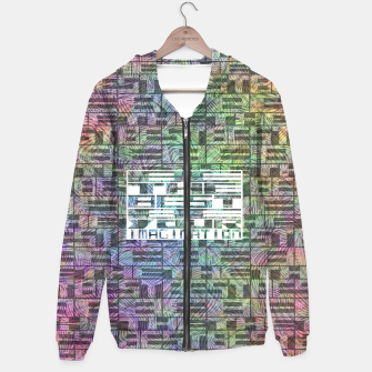 Thumbnail image of be the best Cotton zip up hoodie, Live Heroes