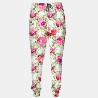 Thumbnail image of JuJu Floral Bouquet Cotton sweatpants, Live Heroes