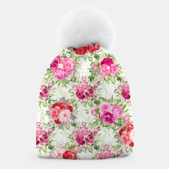 Thumbnail image of JuJu Floral Bouquet Beanie, Live Heroes