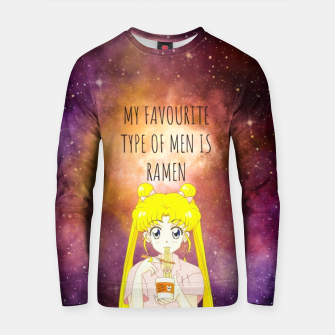 Sailor Moon Ramen 2 Cotton sweater Bild der Miniatur