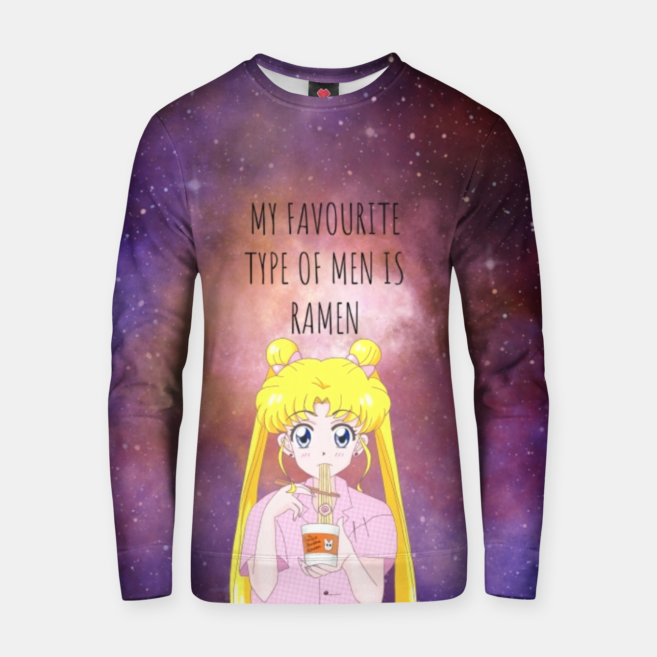 Foto Sailor Moon Ramen 3 Cotton sweater - Live Heroes