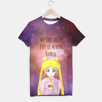 Sailor Moon Ramen 3 T-shirt Bild der Miniatur