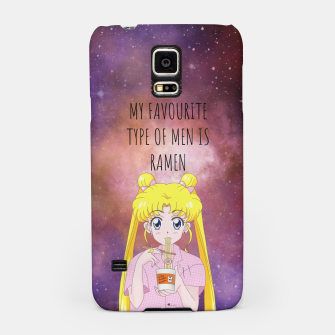 Thumbnail image of Sailor Moon Ramen 3 Samsung Case, Live Heroes