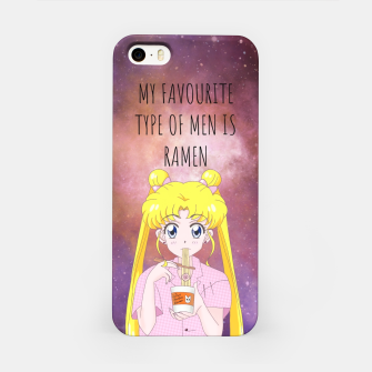 Sailor Moon Ramen 3 iPhone Case Bild der Miniatur