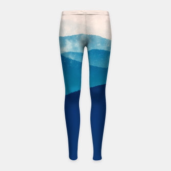 Thumbnail image of Believe In You Girl's leggings, Live Heroes