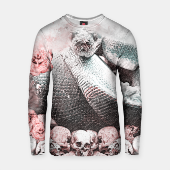 Thumbnail image of skull crusher Cotton sweater, Live Heroes