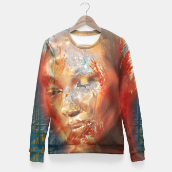 Miniaturka Laniakea Supercluster Woman cotton sweater, Live Heroes