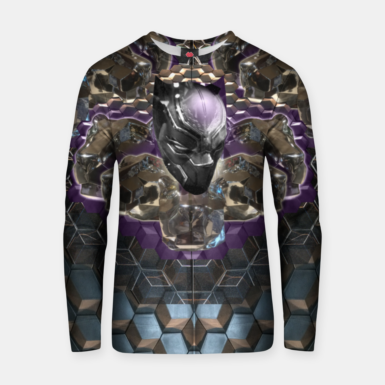 Foto Black Panther Cotton sweater - Live Heroes