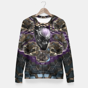 Black Panther Woman cotton sweater Bild der Miniatur