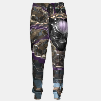 Black Panther Cotton sweatpants Bild der Miniatur