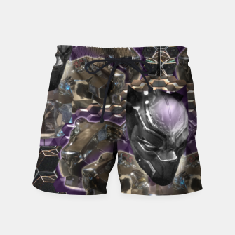 Black Panther Swim Shorts Bild der Miniatur