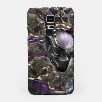 Miniatur Black Panther Samsung Case, Live Heroes