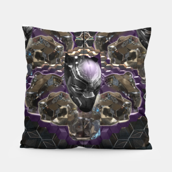 Black Panther Pillow Bild der Miniatur