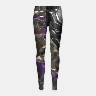 Black Panther Girl's leggings Bild der Miniatur