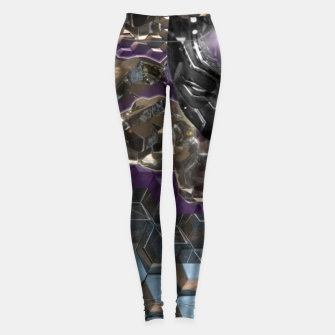 Black Panther Leggings Bild der Miniatur