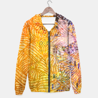 Thumbnail image of klimt Cotton zip up hoodie, Live Heroes
