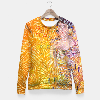 Thumbnail image of klimt Woman cotton sweater, Live Heroes
