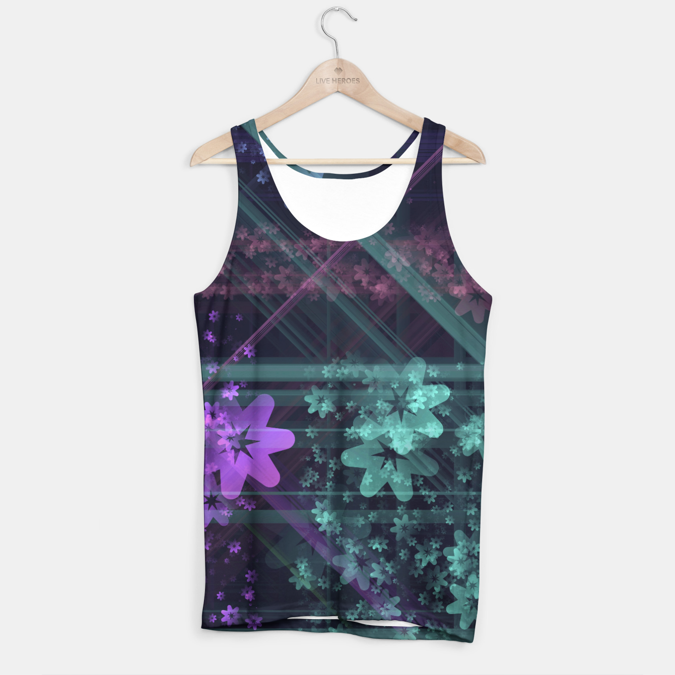 Image of Cosmic Garden Tank Top - Live Heroes