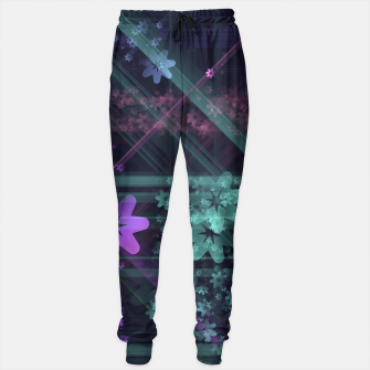 Thumbnail image of Cosmic Garden Cotton sweatpants, Live Heroes