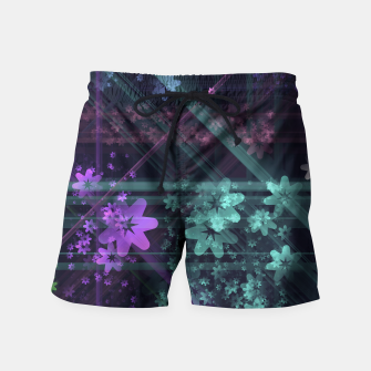 Thumbnail image of Cosmic Garden Swim Shorts, Live Heroes