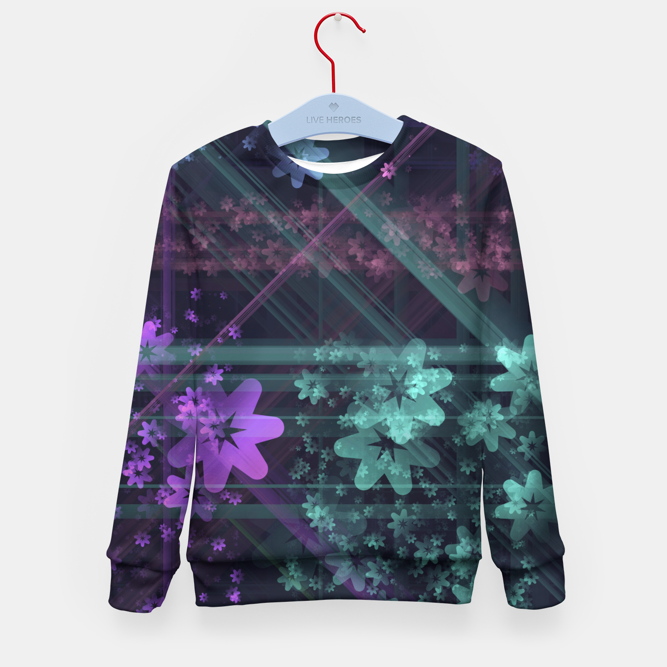 Image of Cosmic Garden Kid's sweater - Live Heroes