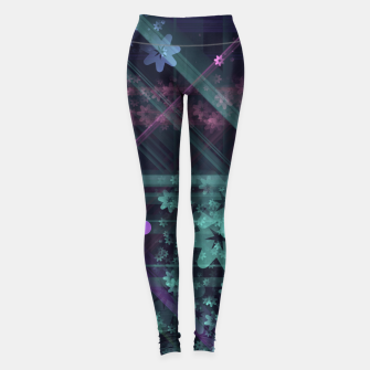 Thumbnail image of Cosmic Garden Leggings, Live Heroes