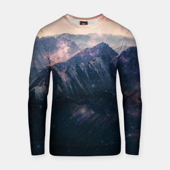 Thumbnail image of Space Landscape Cotton sweater, Live Heroes