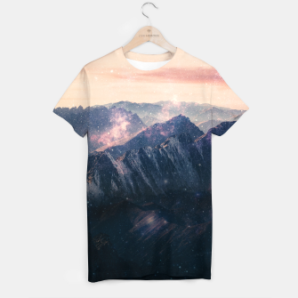 Thumbnail image of Space Landscape T-shirt, Live Heroes