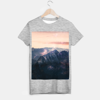Thumbnail image of Space Landscape T-shirt regular, Live Heroes