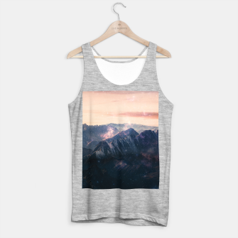 Thumbnail image of Space Landscape Tank Top regular, Live Heroes