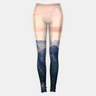 Thumbnail image of Space Landscape Leggings, Live Heroes