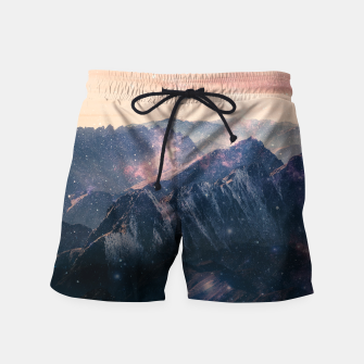 Thumbnail image of Space Landscape Swim Shorts, Live Heroes