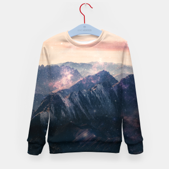 Thumbnail image of Space Landscape Kid's sweater, Live Heroes