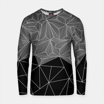 Thumbnail image of Digital Zentangle Incomplet Dark Cotton sweater, Live Heroes