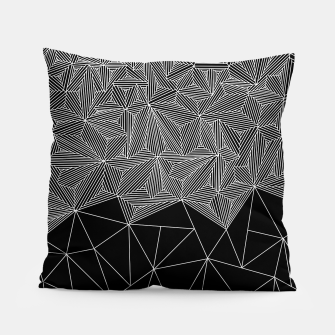 Thumbnail image of Digital Zentangle Incomplet Dark Pillow, Live Heroes