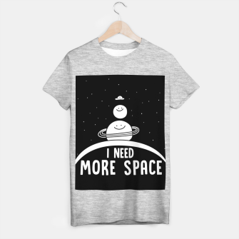 Miniaturka I Need More Space T-shirt regular, Live Heroes