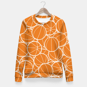 Thumbnail image of Hoop Dreams Woman cotton sweater, Live Heroes