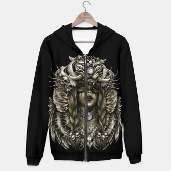 Imagen en miniatura de Winya No. 133 Cotton zip up hoodie, Live Heroes