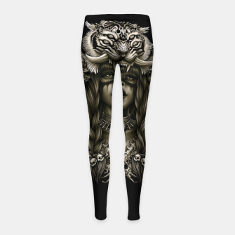 Thumbnail image of Winya No. 133 Girl's leggings, Live Heroes