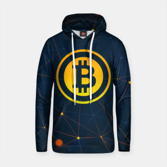 Thumbnail image of bitcoin Cotton hoodie, Live Heroes