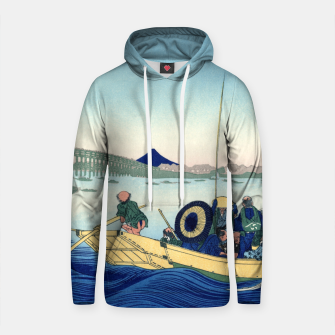 Thumbnail image of Fuji Sunset Cotton hoodie, Live Heroes