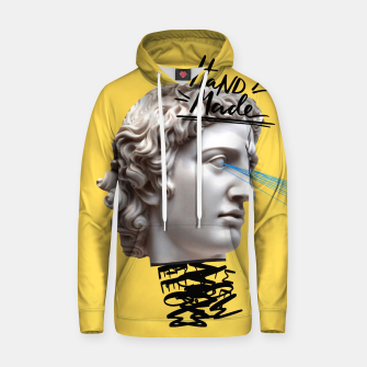Thumbnail image of Hand made Cotton hoodie, Live Heroes
