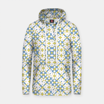 Thumbnail image of Colorful Check Geometric Pattern Cotton hoodie, Live Heroes