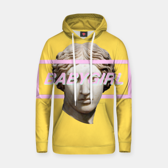 Thumbnail image of Baby Girl Cotton hoodie, Live Heroes