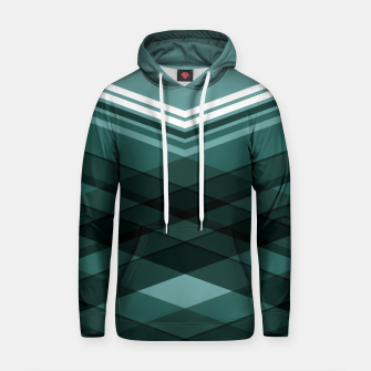 Thumbnail image of Blue Stripes Cotton hoodie, Live Heroes